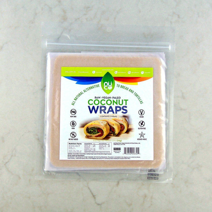 Nuco Coconut Original Wraps at Pure Feast