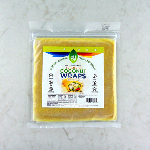Nuco Turmeric Coconut Wraps at Pure Feast