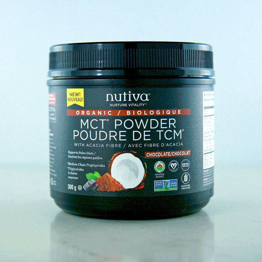 Nutiva Organic Chocolate MCT Powder at Pure Feast