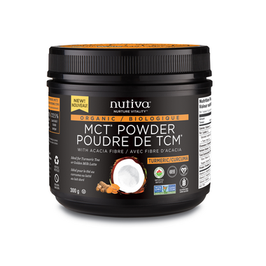 Buy Turmeric Nutiva Organic MCT Powder at Pure Feast