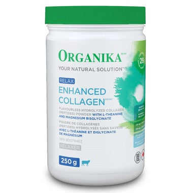 Buy Organika Enhanced Collagen Protein Powder Relax at Pure Feast