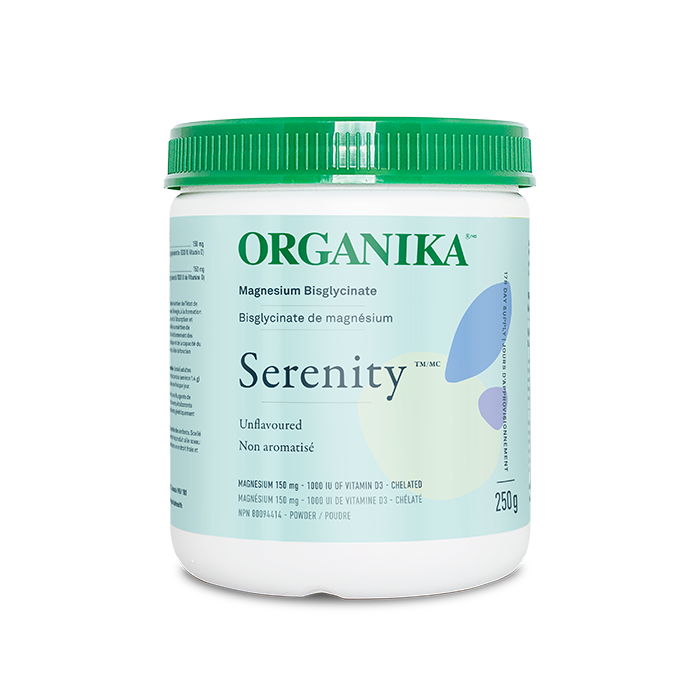 Buy Organika Serenity Magneium Bisglycinate Unflavoured at Pure Feast