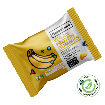 Buy  Protein Gummies Organic Banana from Pure Feast