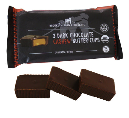 Buy Brooklyn Born Chocolate Cashew Butter Cups - Package of 3 at Pure Feast
