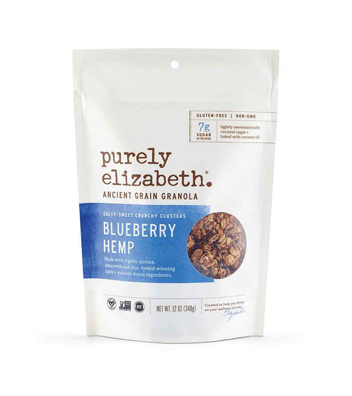 Buy Purely Elizabeth Ancient Grain Granola, Blueberry Hemp at Pure Feast