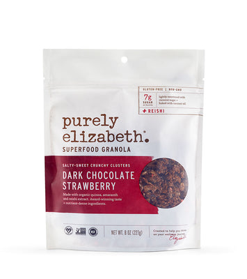 Buy Purely Elizabeth Dark Chocolate Strawberry Superfood Granola at Pure Feast