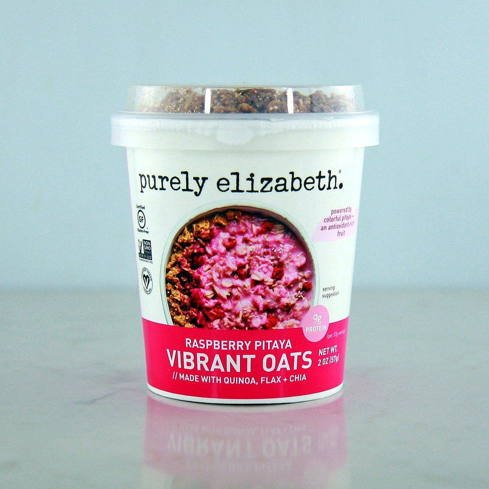 Purely Elizabeth Raspberry Pitaya Vibrant Oats Cup at Pure Feast