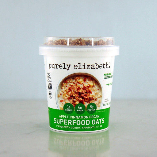 Purely Elizabeth Apple Cinnamon Pecan Superfood Oats at Pure Feast