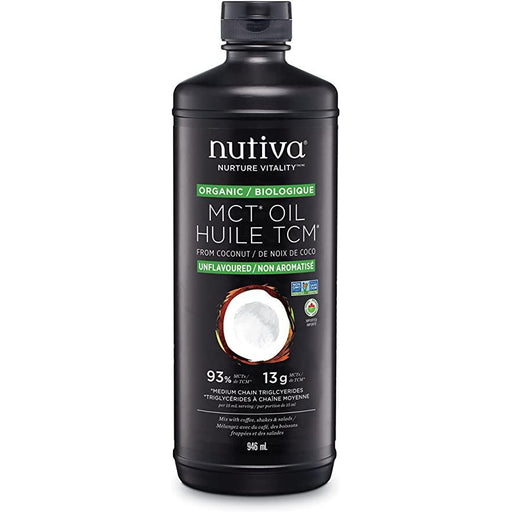 Buy Nutiva Organic MCT Oil online in Canada at Pure Feast