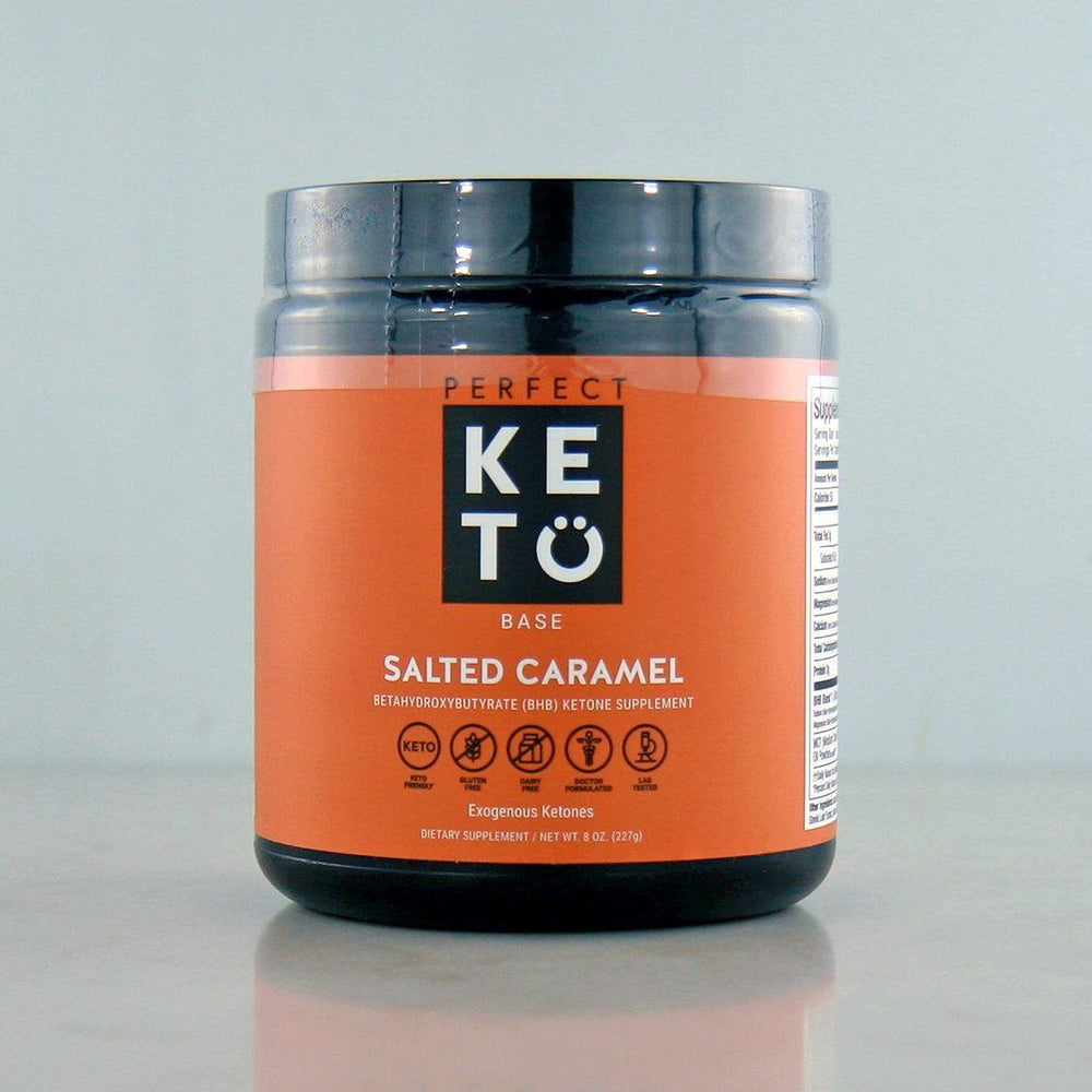 Buy Perfect Keto Exogenous Ketones Salted Caramel at Pure Feast