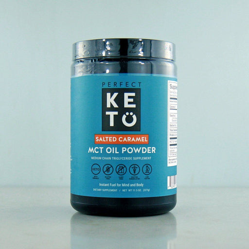Buy Perfect Keto Salted Caramel MCT Powder at Pure Feast