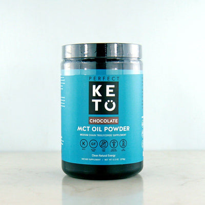 Perfect Keto Chocolate MCT Powder in Canada at Pure Feast