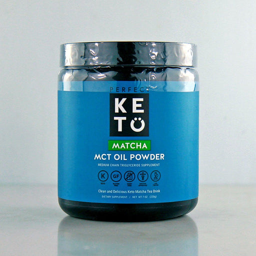 Buy Perfect Keto Matcha MCT Oil Powder in Canada at Pure Feast