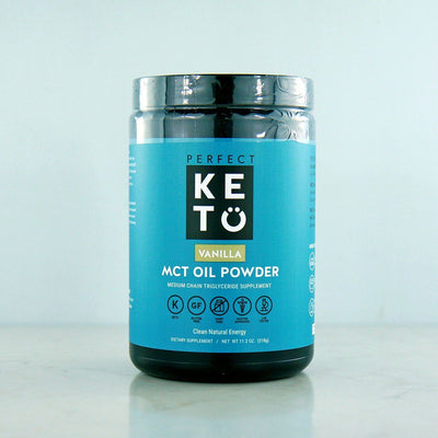 Perfect Keto Vanilla MCT Powder in Canada at Pure Feast