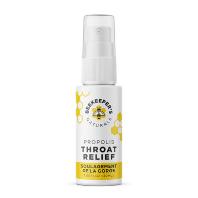 Buy Beekeeper's Naturals Throat Relief Propolis Spray online at Pure Feast