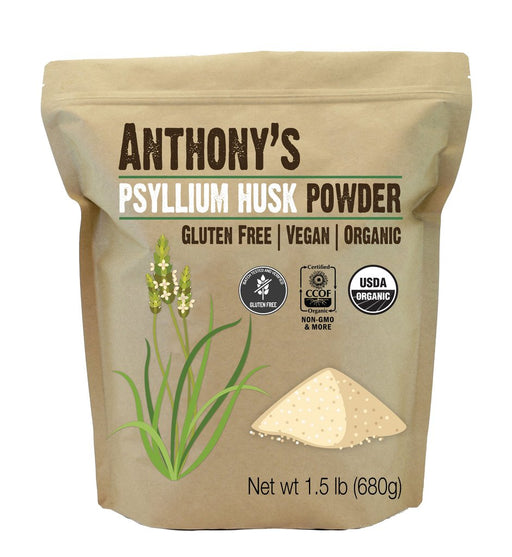 Anthony's Goods Organic Psyllium Husk Powder