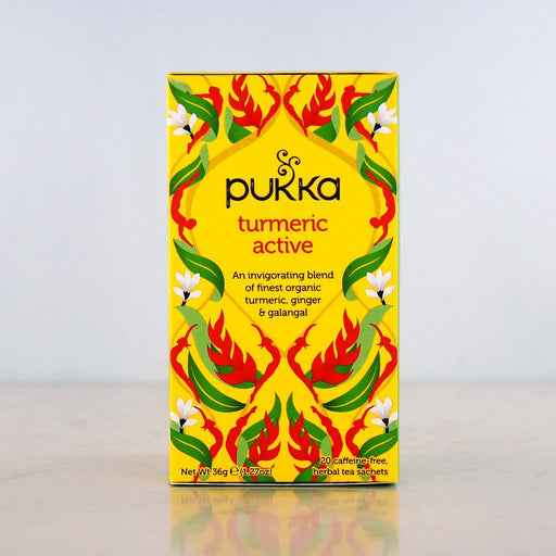 Pukka Turmeric Active Tea at Pure Feast
