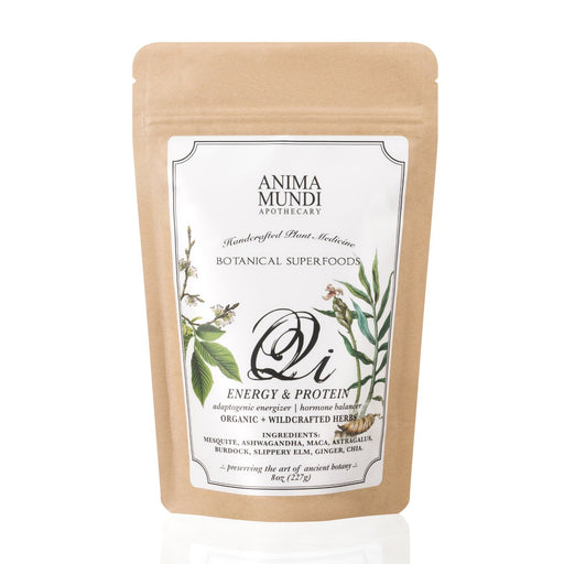 Anima Mundi Qi: Energy + Protein Adaptogenic Superpowder