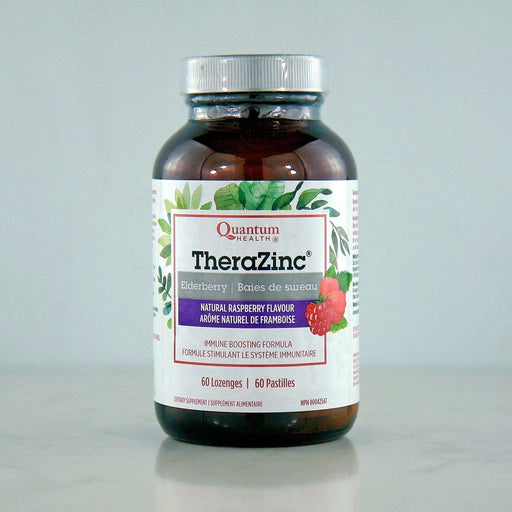 Quantum Organic TheraZinc Elderberry Lozenges at Pure Feast