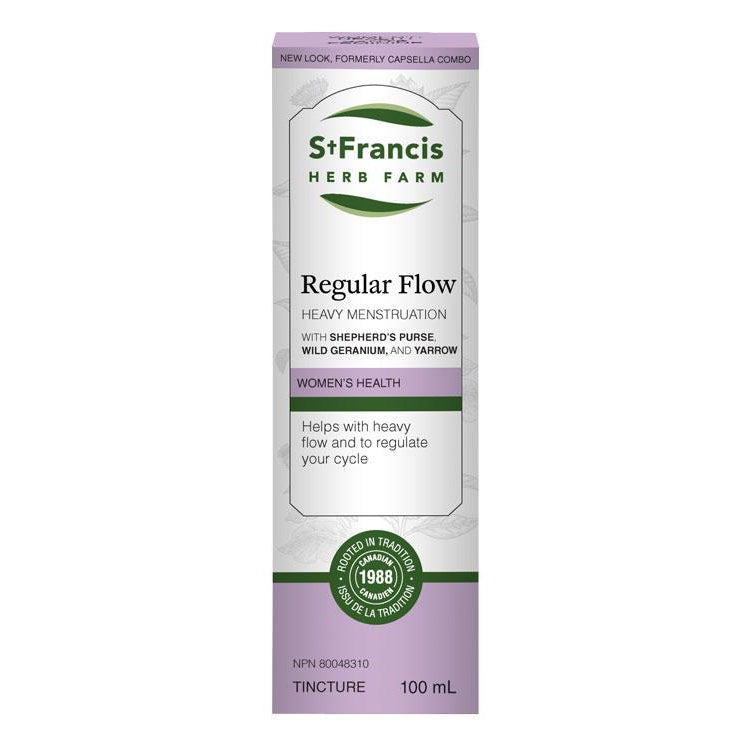 Buy St. Francis Herb Farm Regular Flow at Pure Feast