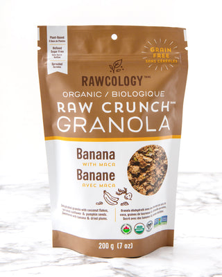 Rawcology Banana with Maca Raw Crunch Granola