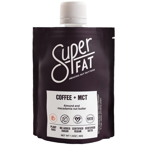 SuperFat Coffee + MCT Nut Butter at Pure Feast