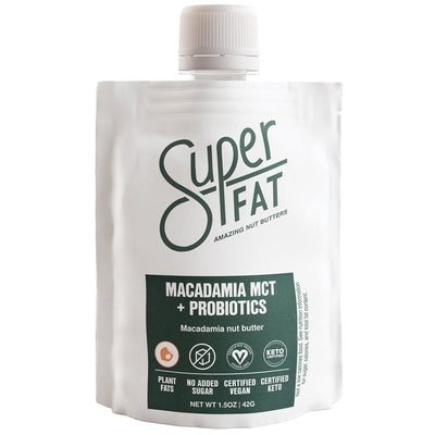 SuperFat Macadamia MCT + Probiotics Nut Butter