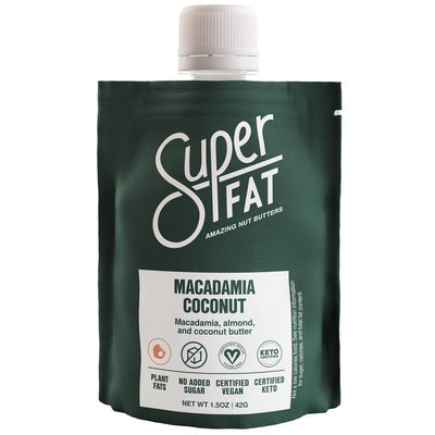 Buy SuperFat Macadamia Coconut Nut Butter at Pure Feast