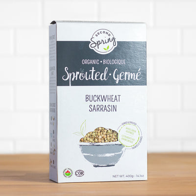 Second Spring Organic Sprouted Buckwheat