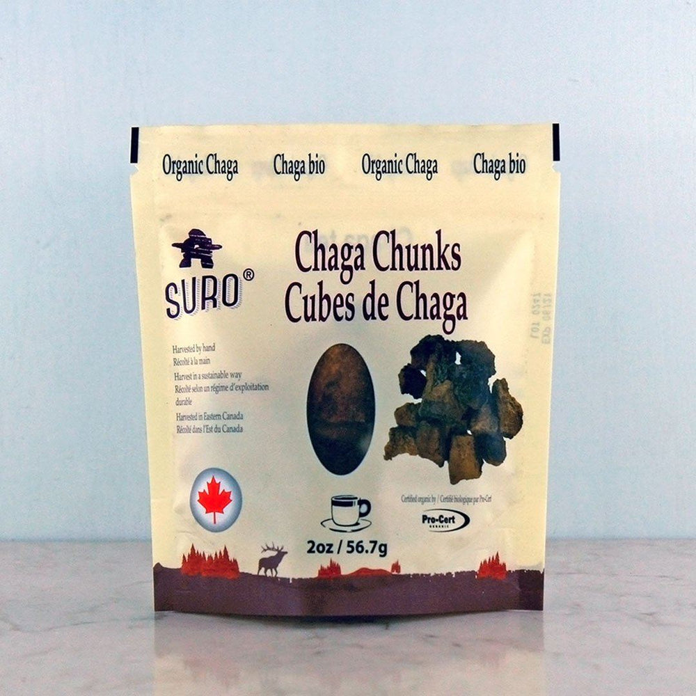 Buy Suro Chaga Chunks online at Pure Feast