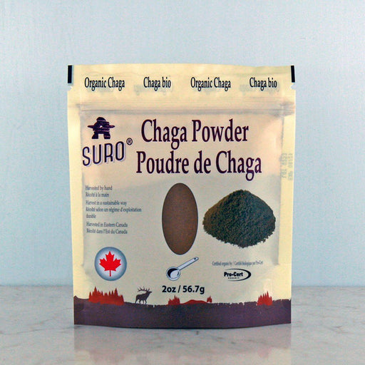 Buy Suro Organic Chaga Powder online in Canada at Pure Feast