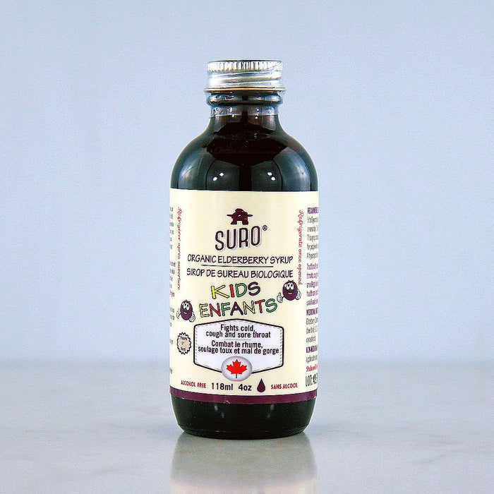 Suro Elderberry Syrup for Kids at Pure Feast
