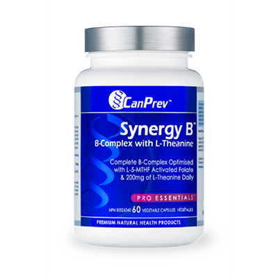 CanPrev Synergy B Complex with L-Theanine