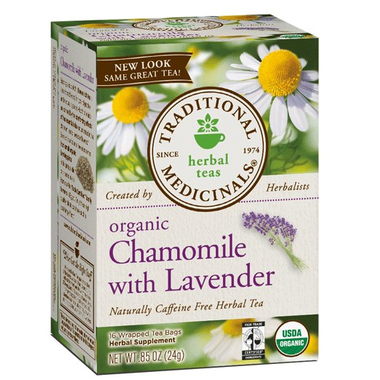Buy Traditional Medicinals Organic Chamomile with Lavender Tea at Pure Feast