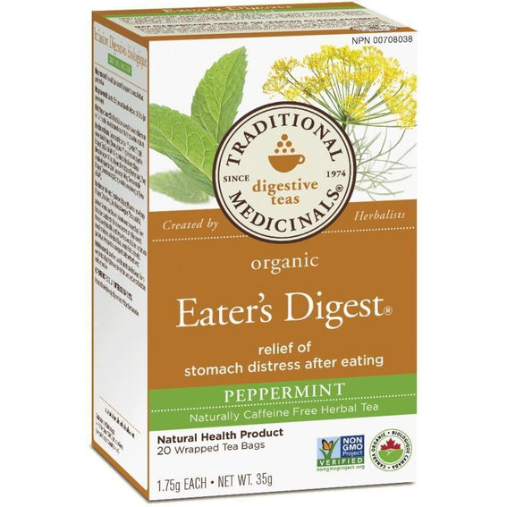 Buy Traditional Medicinals Eater's Digest Peppermint Tea at Pure Feast