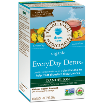 Traditional Medicinals Organic Everyday Detox Dandelion at Pure Feast