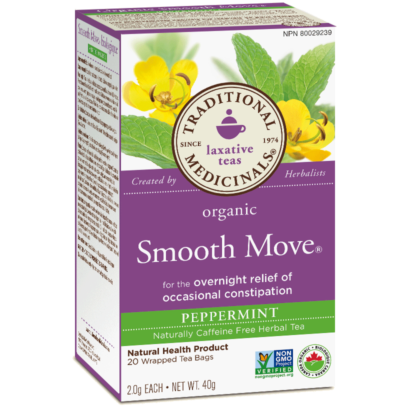 Buy Traditional Medicinals Organic Smooth Move Peppermint Tea at Pure Feast