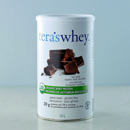 Tera's Whey Organic Grass Fed Protein - Fair Trade Dark Chocolate