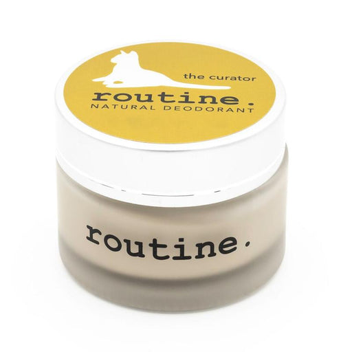 Buy Routine Cream Natural Deodorant The Curator at Pure Feast