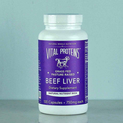 Shop Vital Proteins Beef Liver Capsules in Canada at Pure Feast