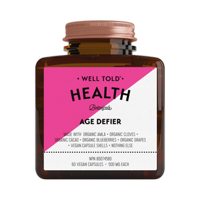 Shop Well Told Health Age Defier at Pure Feast