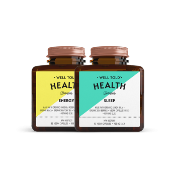 Well Told Health Energy & Sleep Bundle at Pure Feast