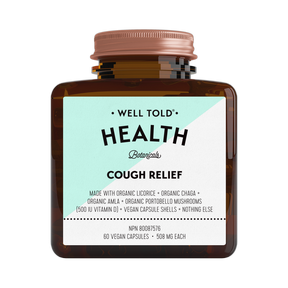 Buy Well Told Health Cough Relief at Pure Feast