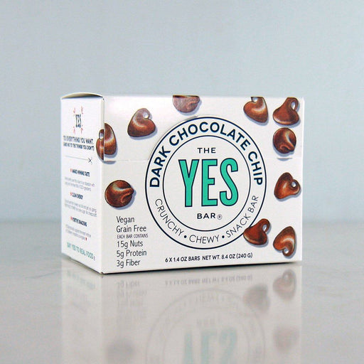 The YES Bar Vegan Dark Chocolate Chip