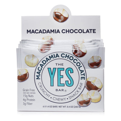 The YES Bar Macadamia Chocolate