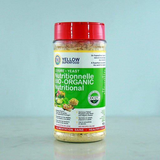 Yellow Superfood Organic Nutritional Yeast Flakes, Shaker Bottle at Pure Feast