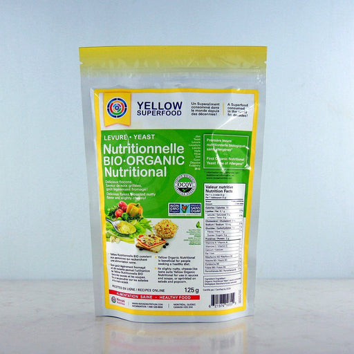 Yellow Superfood Organic Nutritional Yeast Flakes at Pure Feast