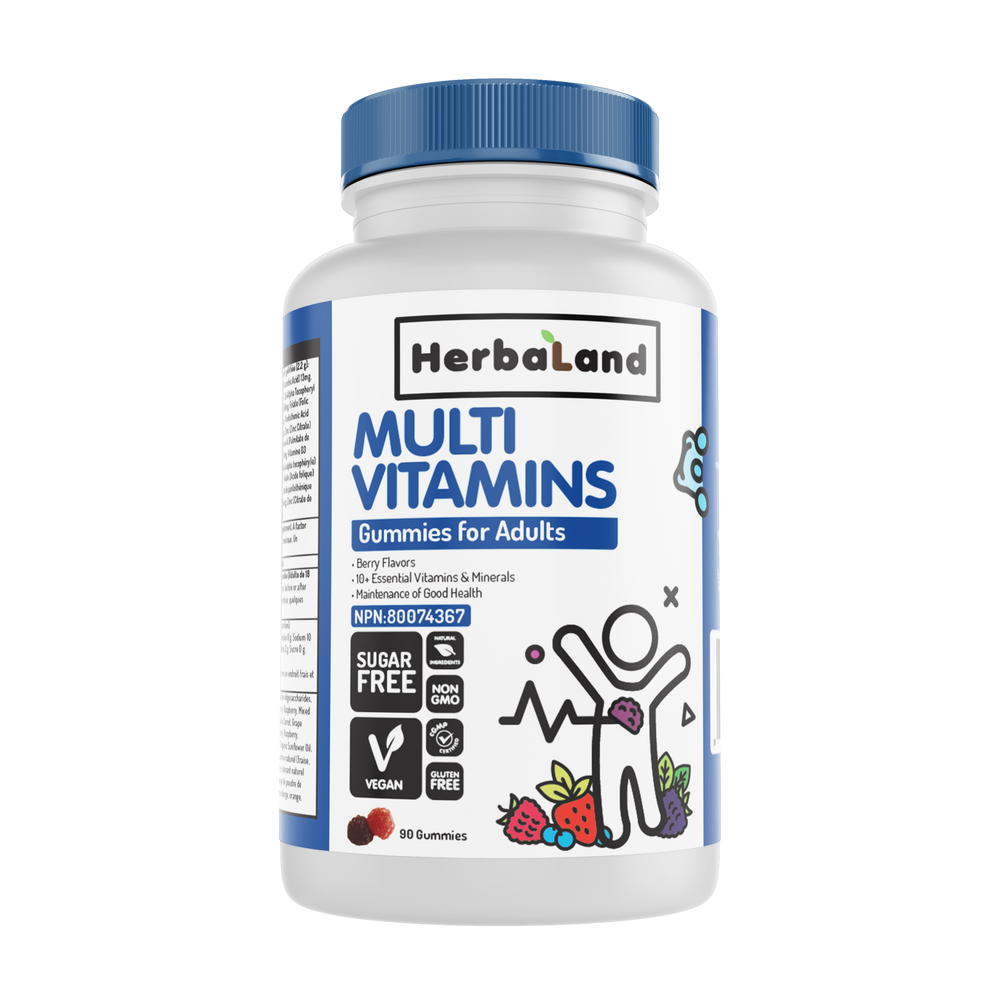 Buy Herbaland Gummies for Adults: Multivitamins from Pure Feast