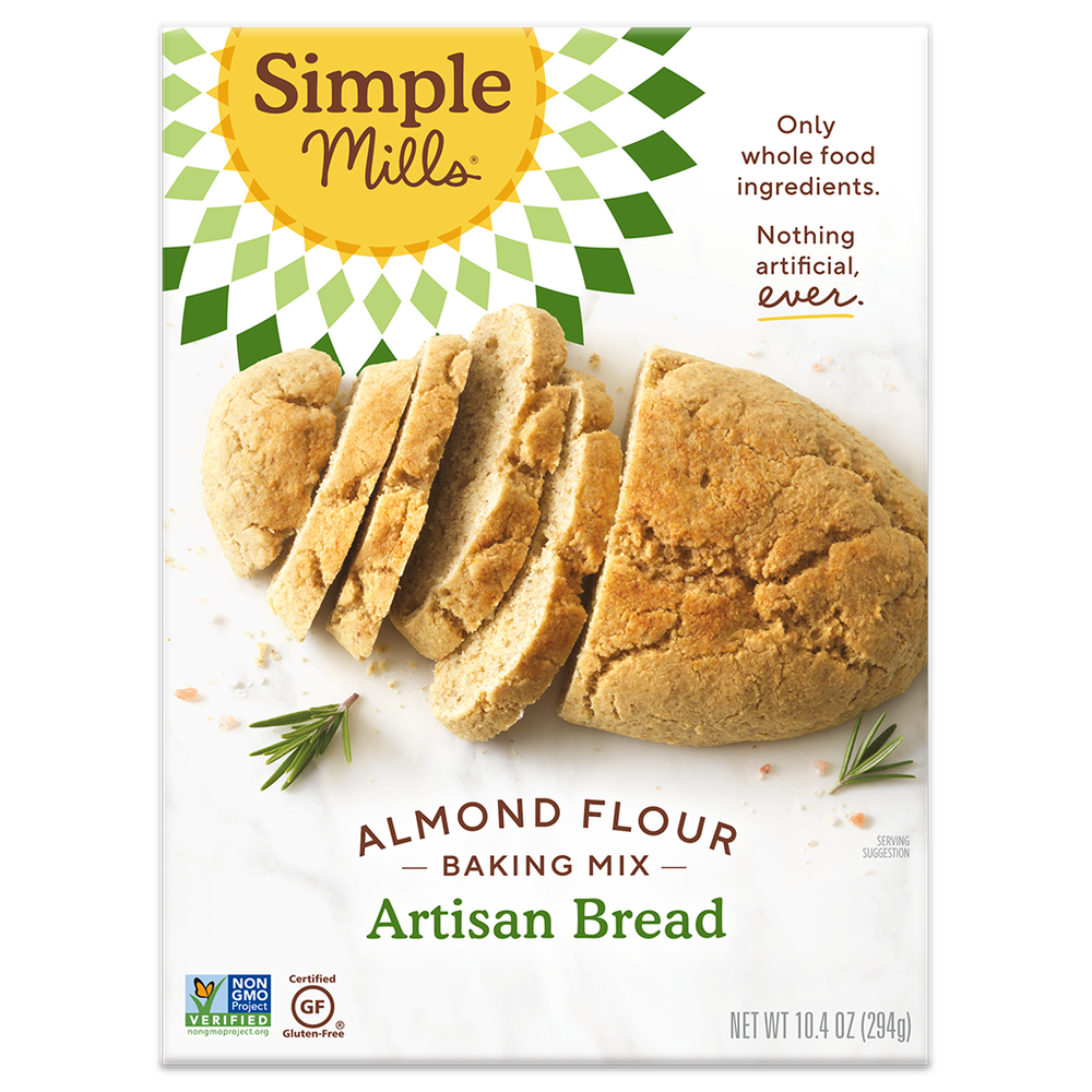 Simple Mills Artisan Almond Flour Bread Mix
