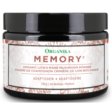 Buy Organika Organic Lion's Mane Mushroom Powder - Memory at Pure Feast